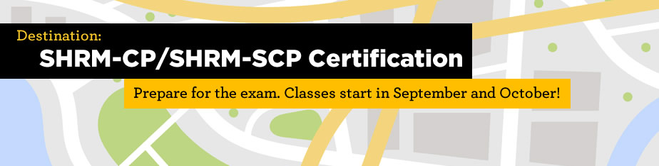 SHRM-CP/SHRM-SCP Certification