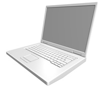 A high speed Laptop connected for the Zero Energy Green Homes Course